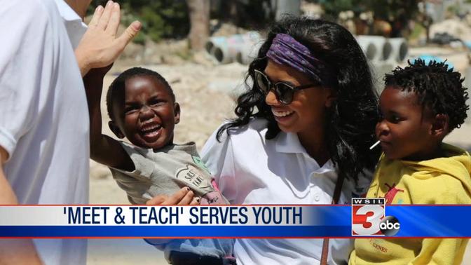 Meet & Teach Serves Youth Globally