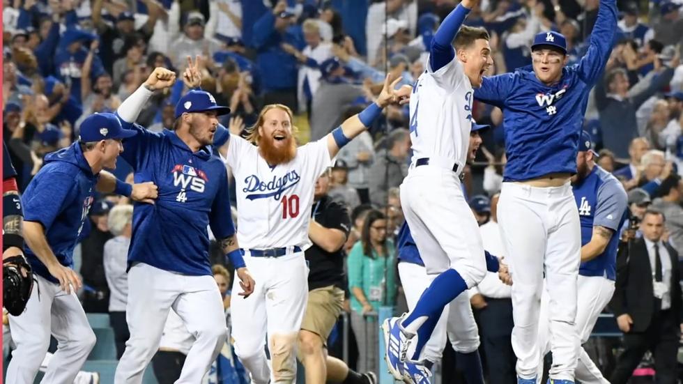 Congratulations Dodgers from Dubai Little League