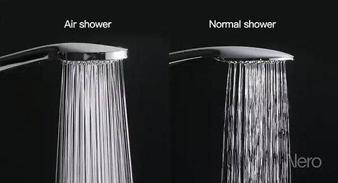 Nero Air Shower Comparison