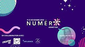 NumerX Event Poster 2020