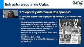 Estructura social de Cuba