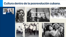 Cultura dentro de la posrevolución cubana