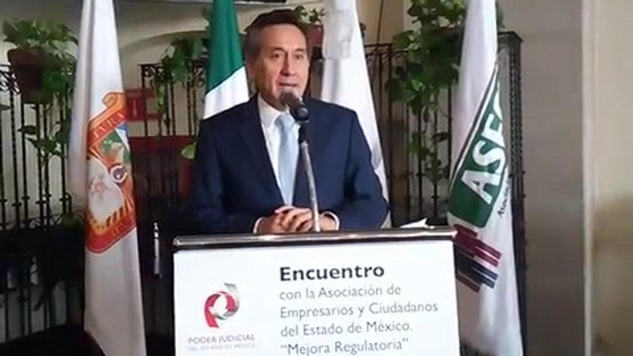 Reunión con Presidente del Tribunal Superior de Justicia del Estado de México, en pro de la Mejora Regulatoria