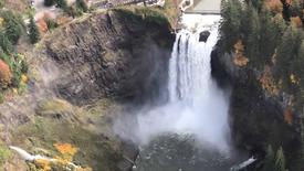 Snoqualmie Falls Flyover