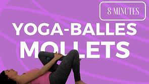 Yoga-Balles: Mollets