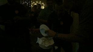 wrap party...