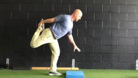 SL RDL Hip Flexor/Quad Stretch