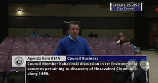 Bryan Clor - Warren Wastewater Treatment Plant - January 14, 2020 -  City of Warren City Council Meeting - made with Clipchamp