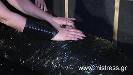 Playing with My mummified slave