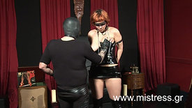 Submissive woman training