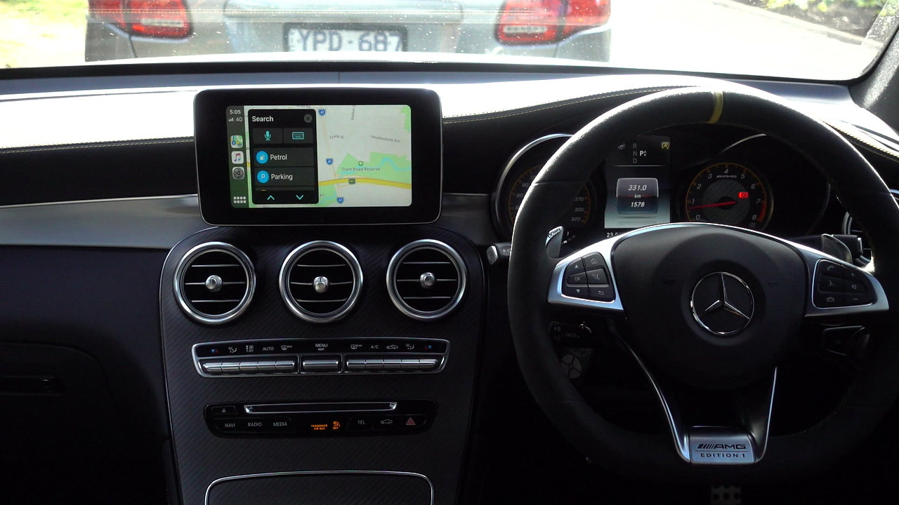 Mercedes-Benz Integrated Apple CarPlay