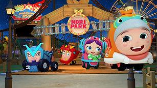 Nori The RollerCoaster Boy - 52 x 11'