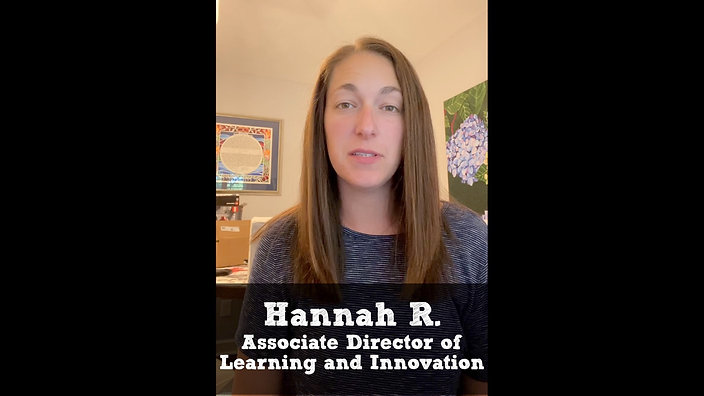 Hannah R testimonial