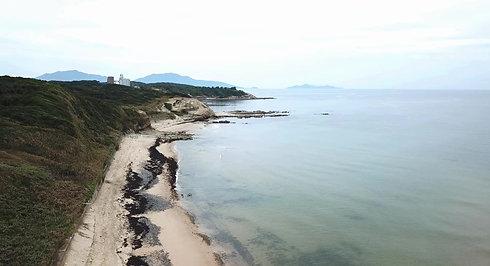 秘密の砂浜