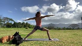 23 Min Leg-Focused Yoga