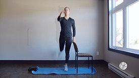 Balancement des jambes avant/arrière