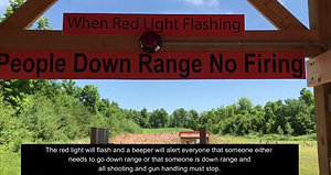 How to operate our down range alert system