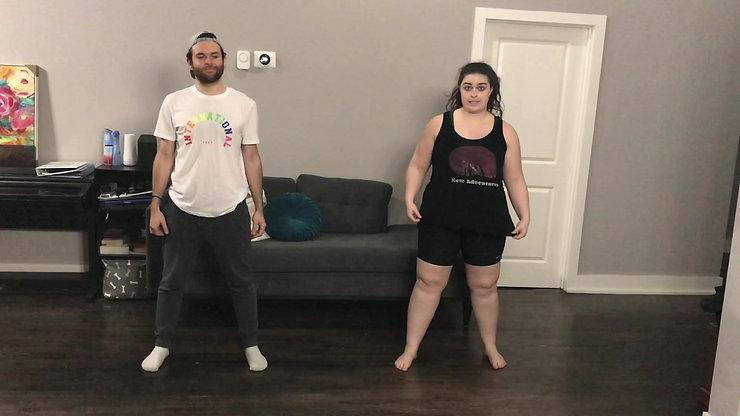 Shrek Audition Dance Combination