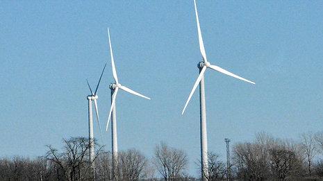 Marion Tallgrass Trail Wind Turbine