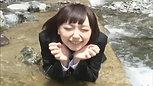お水遊び&癒し⑤ 黒リクルートスーツ1