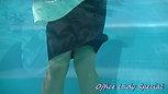 【水中編】ツイスターゲームで罰ゲーム
