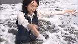 お水遊び&癒し③ 濃紺OL制服