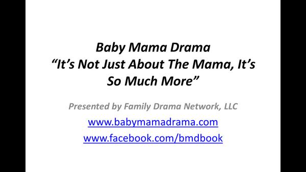 My Baby Mama Is Like The CIA