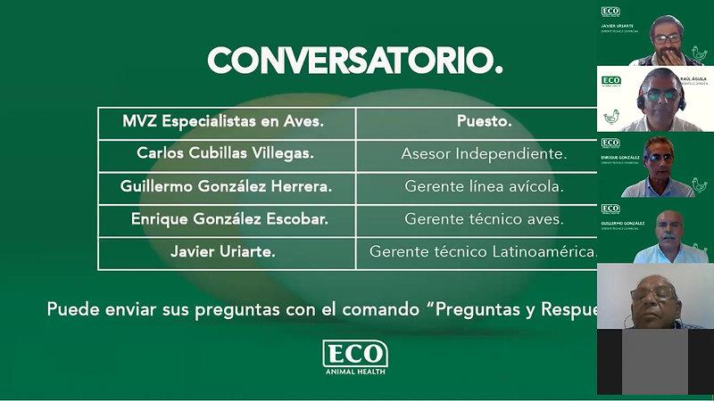 MICOPLASMA EN AVES - DR. CARLOS CUBILLAS PARTE 2-CONVERSATORIO