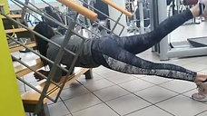 Plank Variation für Gesäß