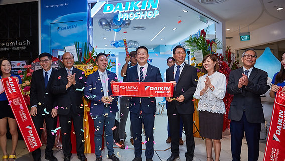 Opening Ceremony of Daikin Proshop @ Compass One