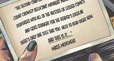 Count Crowley Issue 2 Review Ad