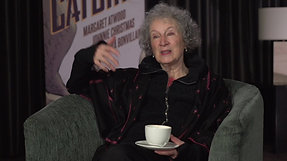 Margaret Atwood's Angel Catbird Interview and Book Trailer