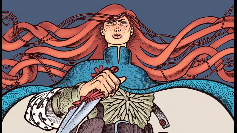 Crimson Flower Official Comic Trailer