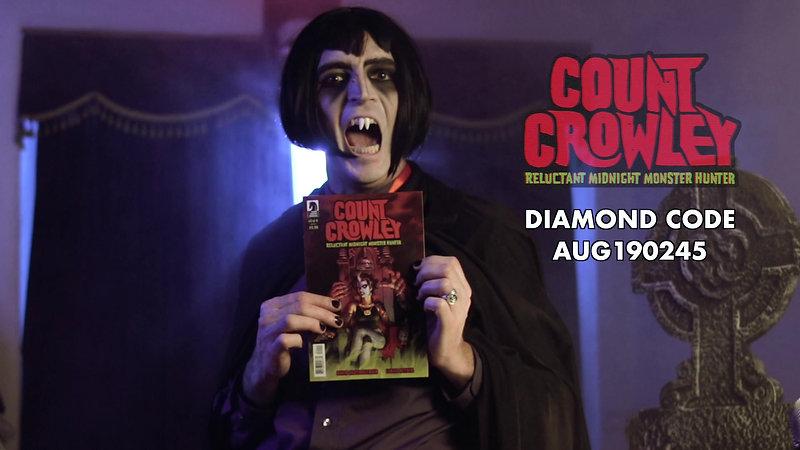 Count Crowley Pre-order Ad