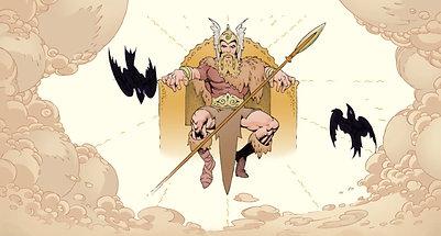 Neil Gaiman's Norse Mythology Official Comics Trailer