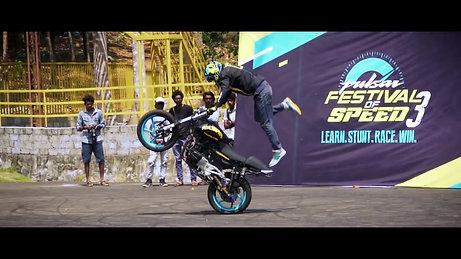 India's 1st Pulsar Stunt Championship - #PulsarFOS season 3