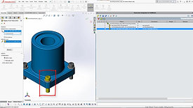 SOLIDWORKS CAD Integration