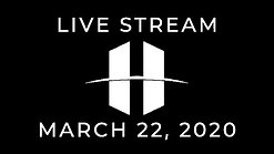 Live Stream - March 22nd