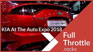 Kia Motors At The Auto Expo 2018 - Sample