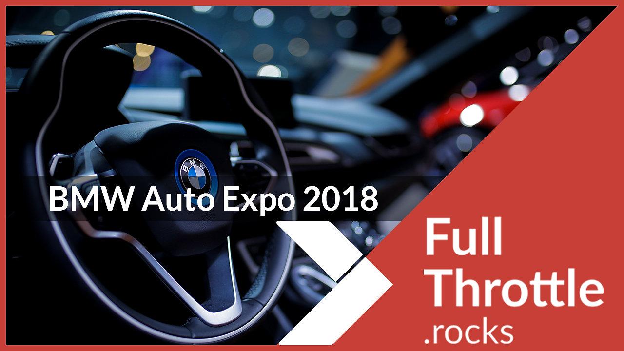 BMW Auto Expo 2018