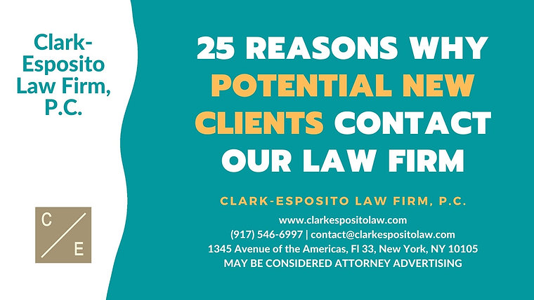 Clark-Esposito Law Firm, P.C. Videos