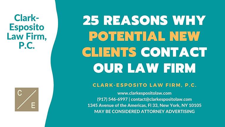 Clark-Esposito Law Firm, P.C. Videos