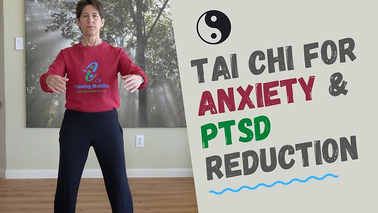 Qigong for Stress, Anxiety, and PTSD reduction