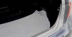 How to Prevent Stains in Trunk - Lessy Messy Trunk Mat Demo