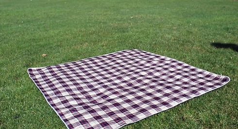 Protect your clothes from muddy ground - WASHABLE Picnic Blanket for Outdoor Concerts, Beach