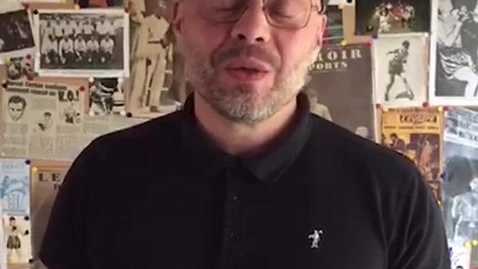 Le petit mot de Rudy Gernez pour l'Atelier des Hommes Leaders