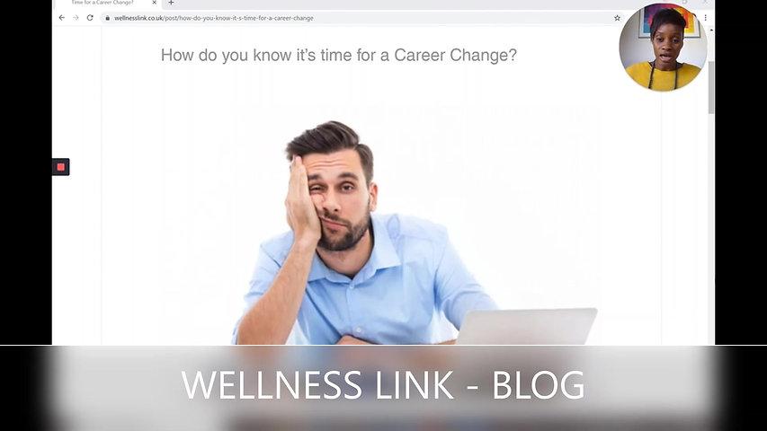 Career Change Summary