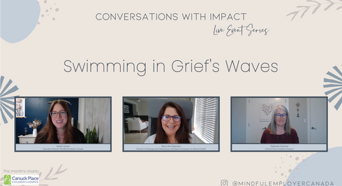 Swimming in Grief's Waves