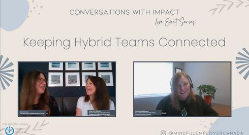 Keeping Hybrid Teams Connected