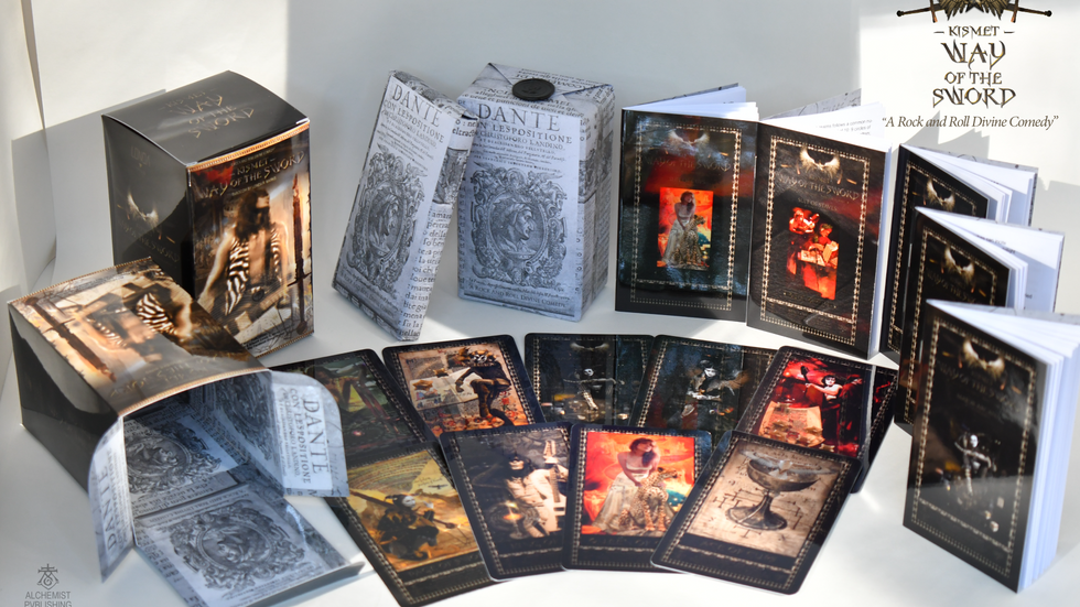Kismet, Way Of The Sword Tarot Limited Edition